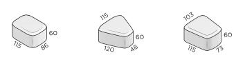премиум классика круговая размеры