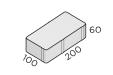 Брусчатка 200*100*60 размеры